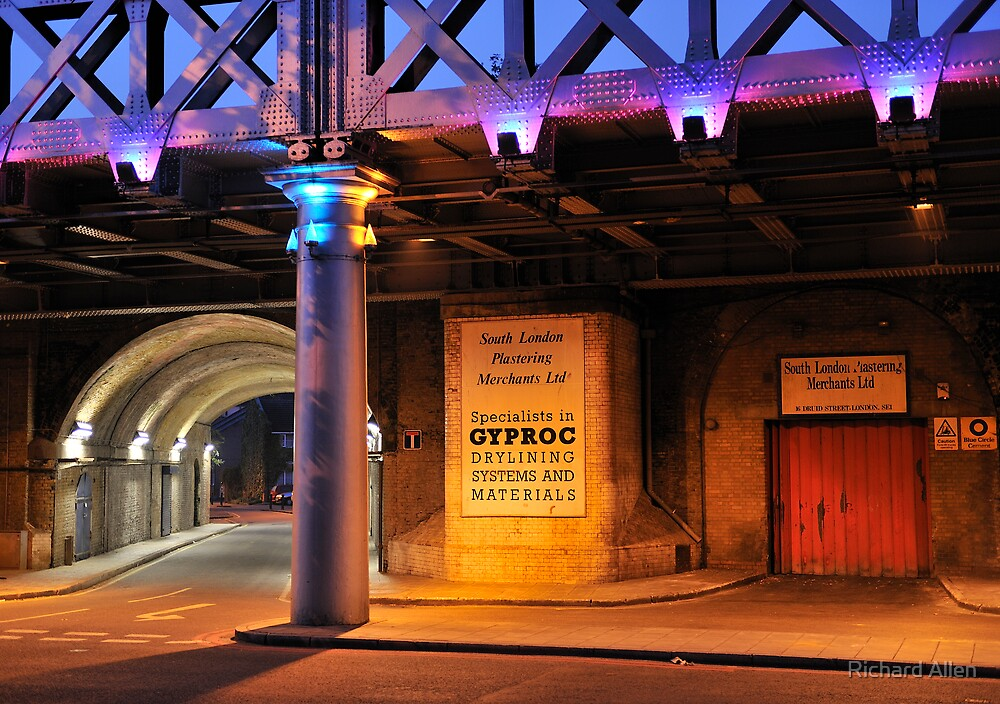 Railway Arches Morning by Lea Valley Photographic