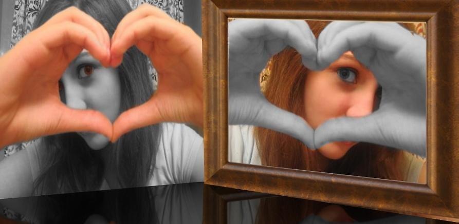 Heather's Mirror by Carlos Perez
