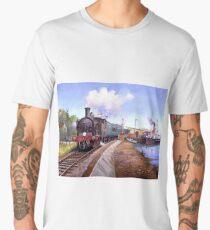 Lymington station. Men's Premium T-Shirt