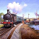 Lymington station. by Mike Jeffries