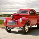 1941 Willys 'Gasser' Coupe 2 by DaveKoontz