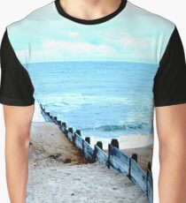 Outlook over North Sea Graphic T-Shirt