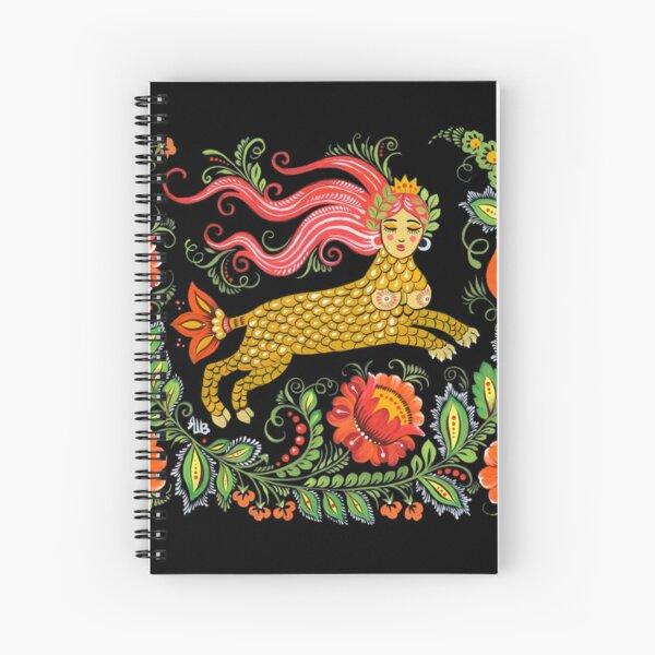 Créature magique Art populaire (Lamia) Cahier à spirale
