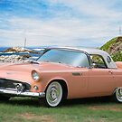 1956 Ford Thunderbird 1 by DaveKoontz