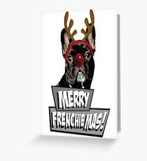 AD Merry FrenchieMas! Greeting Card