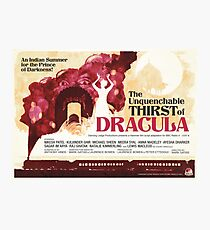 The Unquenchable Thirst of Dracula Photographic Print