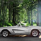 1962 Chevrolet Corvette Roadster 3 by DaveKoontz