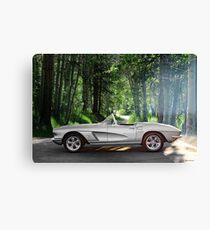 1962 Chevrolet Corvette Roadster 3 Canvas Print