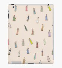 Austen Characters - peach iPad Case/Skin