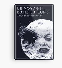 Le Voyage Dans la Lune  (A Trip to the Moon) - Georges Méliès Metal Print