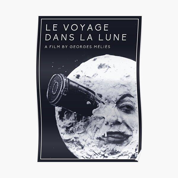 Le Voyage Dans la Lune  (A Trip to the Moon) - Georges Méliès Poster