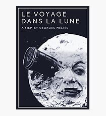 Le Voyage Dans la Lune  (A Trip to the Moon) - Georges Méliès Photographic Print