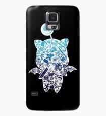 Funda/vinilo para Samsung Galaxy Moogle-verse (azul)