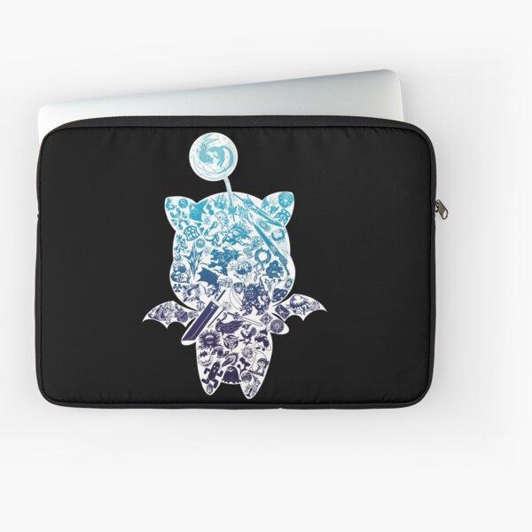 Moogle-verse (blue) Laptop Sleeve