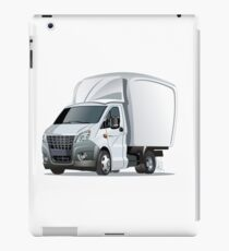 Cartoon delivery or cargo truck iPad Case/Skin