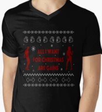 All I Want For Christmas Are Gains Ugly Sweater T-Shirt