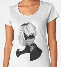 NieR Automata Fanart- Duo Women's Premium T-Shirt