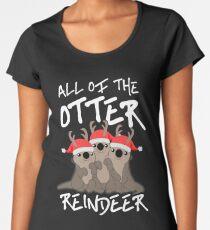 All of the Otter Reindeer Women's Premium T-Shirt