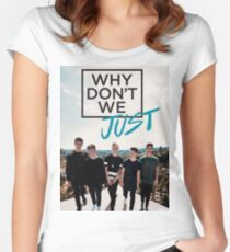 Why Don't We Women's Fitted Scoop T-Shirt