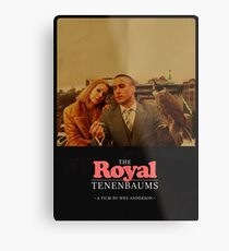 The Royal Tenenbaums - A Film by Wes Anderson  Metal Print