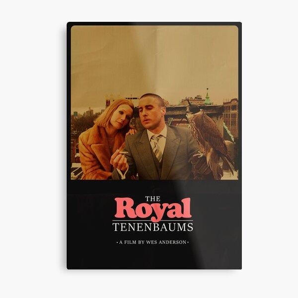 The Royal Tenenbaums - A Film by Wes Anderson  Metal Print
