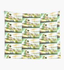 FUN AT THE BEACH Wall Tapestry
