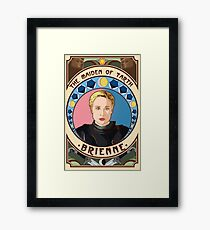 Sapphires of Tarth - English Version Framed Print