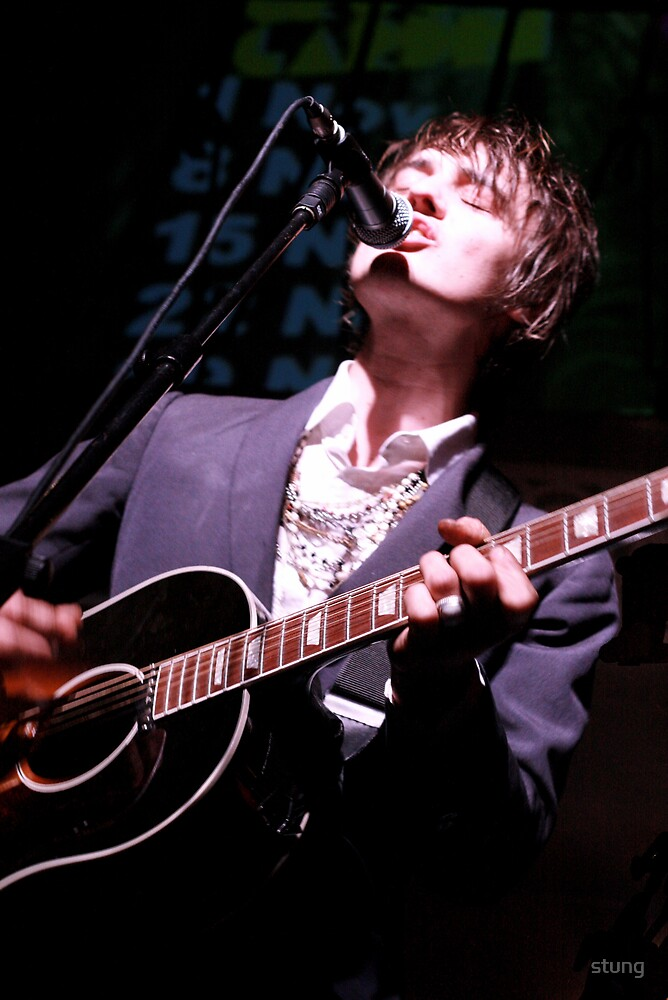 Pete Doherty  by Stung  Photography