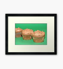 Chocolate Mint Cupcakes Framed Print