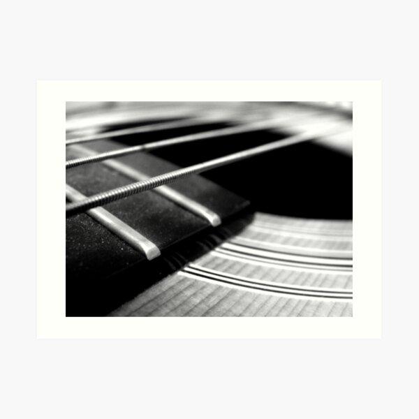 La Guitare Art Print
