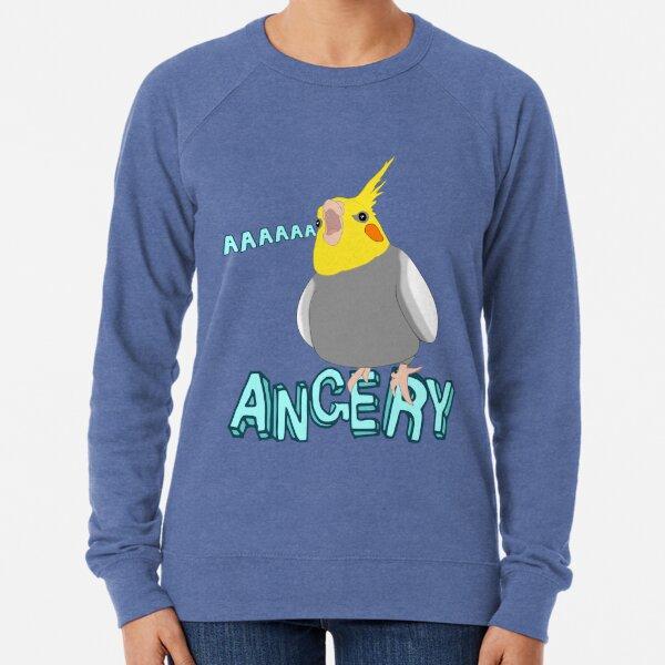ANGERY - cockatiel - 2 Lightweight Sweatshirt