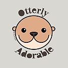 Otterly Adorable - Otter Face by zoel
