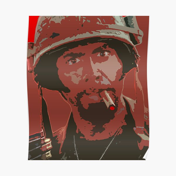 Robert Downey jr - tropique tonnerre Poster