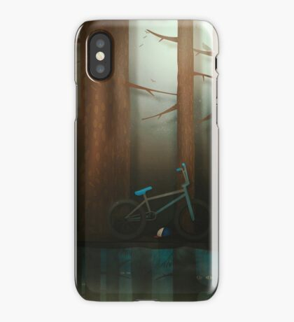 Mystery in the woods iPhone Case