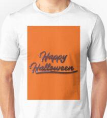 Happy Halloween graffiti typography. Unisex T-Shirt