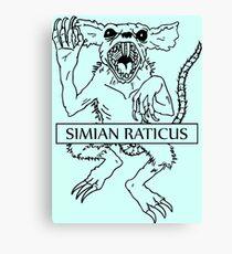 Simian Raticus  Canvas Print