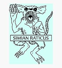 Simian Raticus  Photographic Print