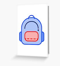 The backpack that's never full! Greeting Card