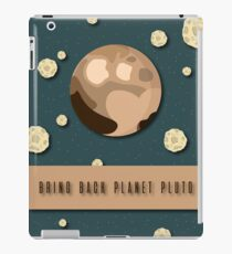 Pluto is a Planet  iPad Case/Skin