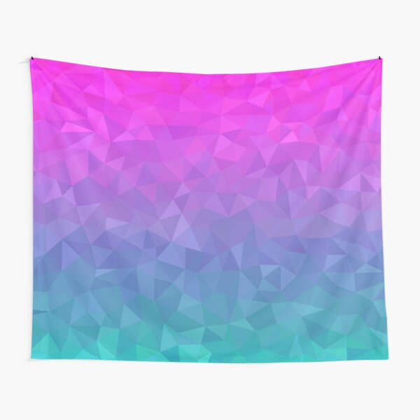 Jewel Tone Ombre Tapestry