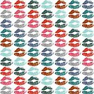 Stylish Colorful Lips #8 by Nhan Ngo