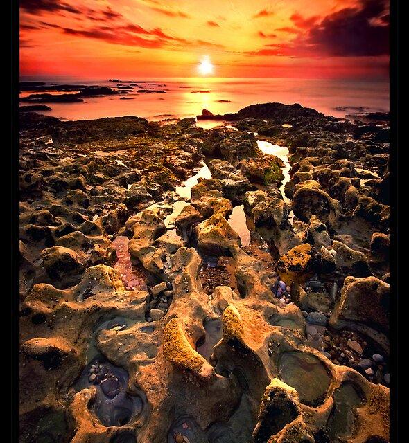 Twilight Footprints by José Ramos