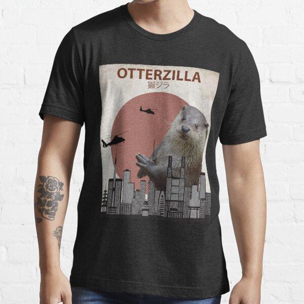 Otterzilla - Giant Otter Monster Essential T-Shirt