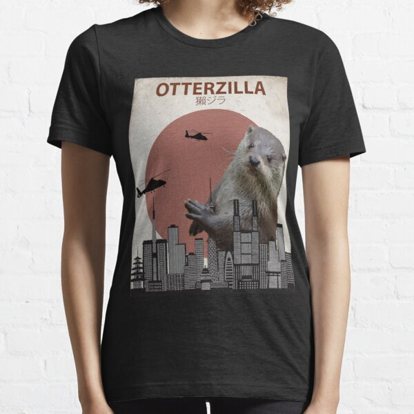 Otterzilla - Giant Otter Monster Essential T-Shirt