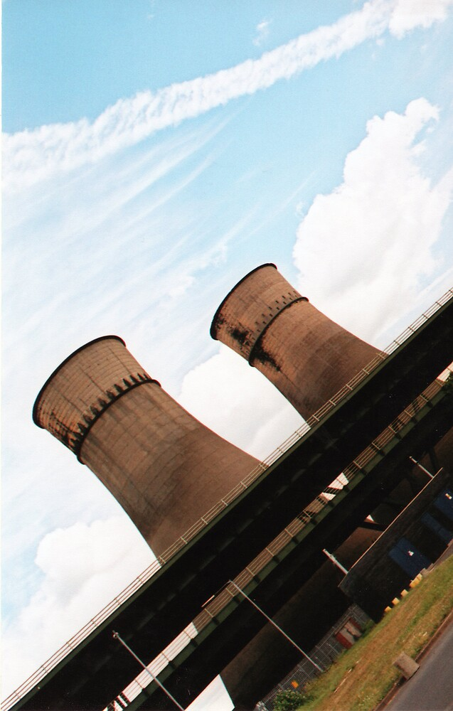 The Tinsley Cooling Towers by Nathan Walker