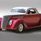 1937 Ford Deluxe Coupe I by DaveKoontz