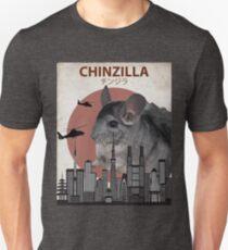 Chinzilla - Giant Chinchilla Monster T-Shirt