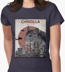 Chinzilla - Giant Chinchilla Monster Women's Fitted T-Shirt