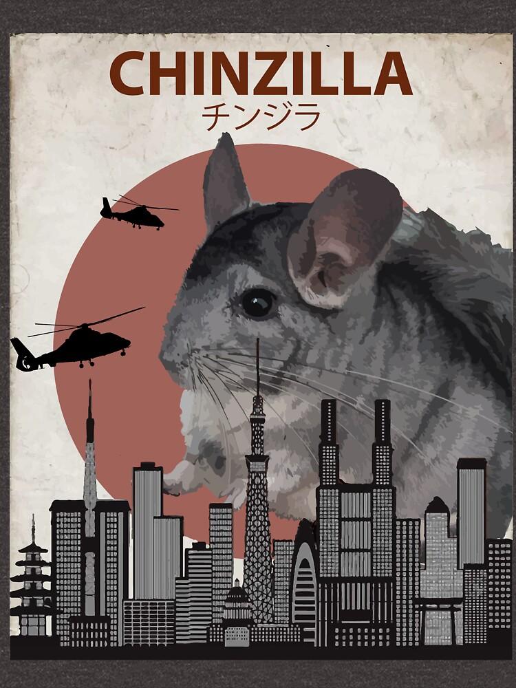 Chinzilla - Giant Chinchilla Monster by Animalzilla
