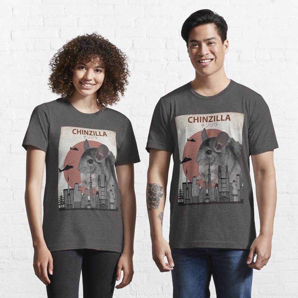 Chinzilla - Giant Chinchilla Monster Essential T-Shirt